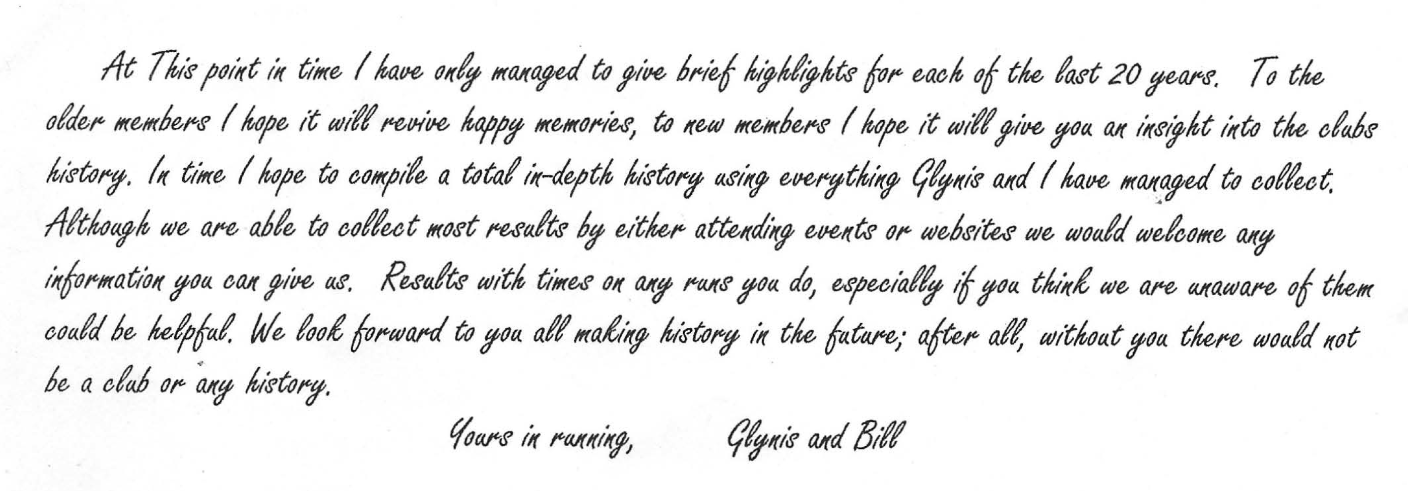 20th Anniversary Message