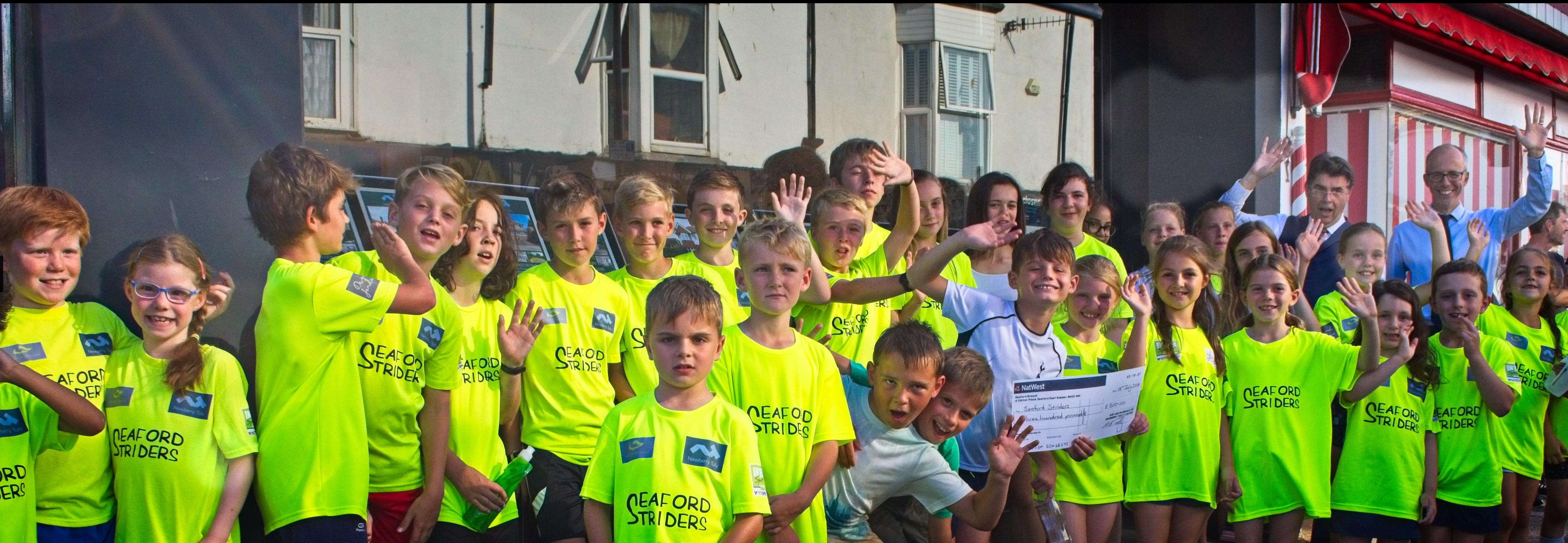Seaford Striders Juniors Group Photo